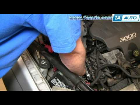How To Install Replace Water Pump 00-05 Chevy Impala 3800 3.8L 1AAuto.com