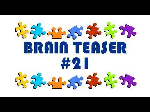 Video Brain Teaser #21