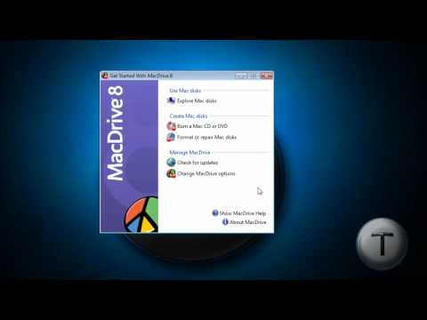 Read your Mac Drives in Windows