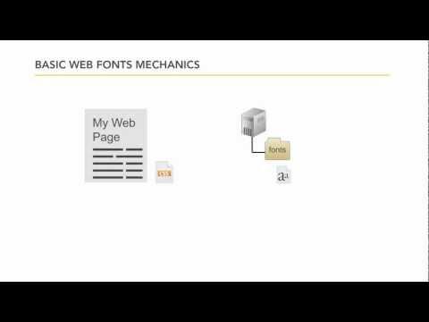 Typekit tutorial: What are web fonts? | lynda.com