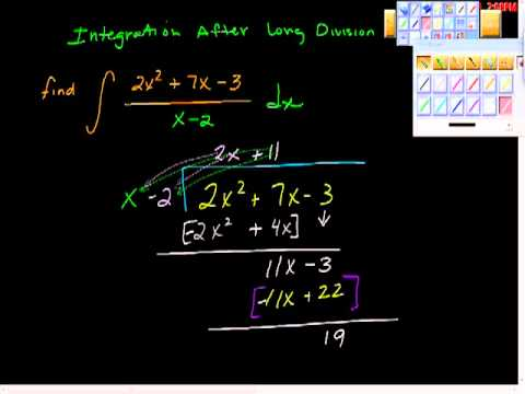 Integration After Polynomial Division Ap Calculus
