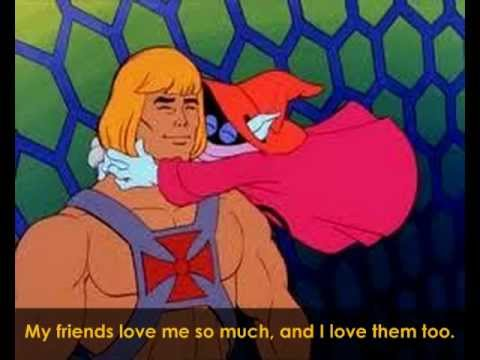 Cartoon - Superhero He-Man