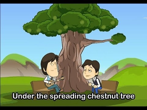 Muffin Songs - Under The Spreading Chestnut Tree  | nursery rhymes & children songs with lyrics | muffin songs