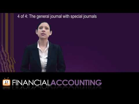 Financial Accounting - Chapter 7: Special journals and subsidiary ledgers