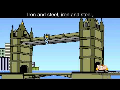 London Bridge with lyrics and sing along option