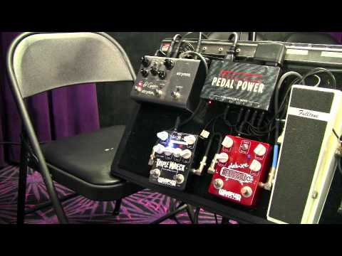 Guitar Effects Pedals - Wampler Triple Wreck and Pinnacle Pedal Demo