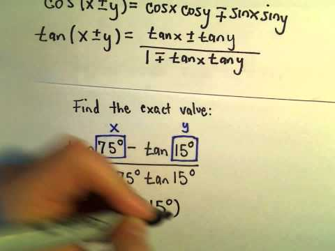 Sum and Difference Identities to Simplify an Expression, Example 3