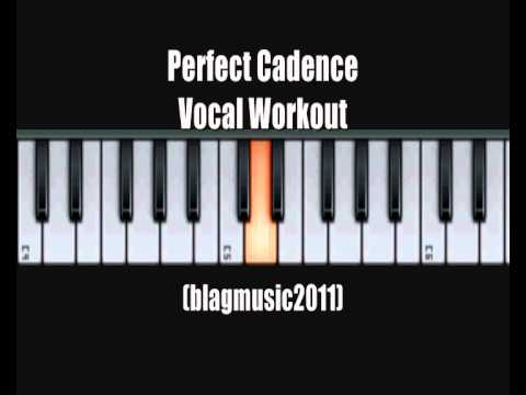 Vocal Workout Exercise for Advanced Vocalists - Over a Perfect Cadence