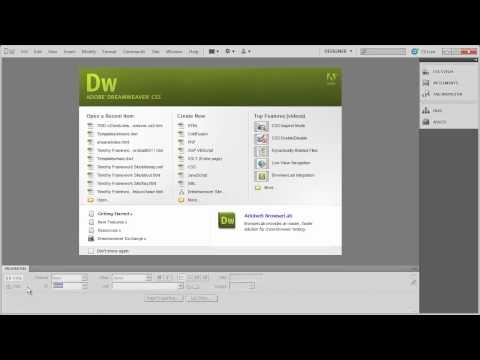 2 - Introduction to Dreamweaver CS5 - Part 2