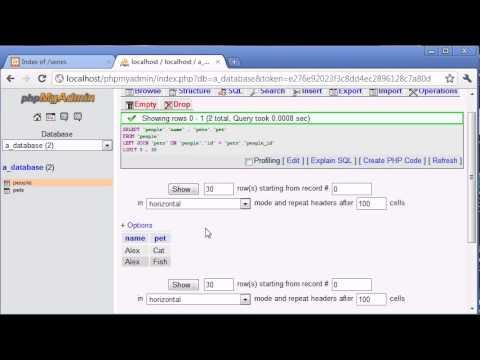 Beginner PHP Tutorial - 128 - RIGHT JOIN