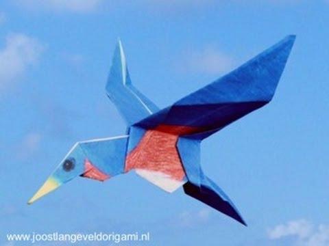 Origami Bluebird