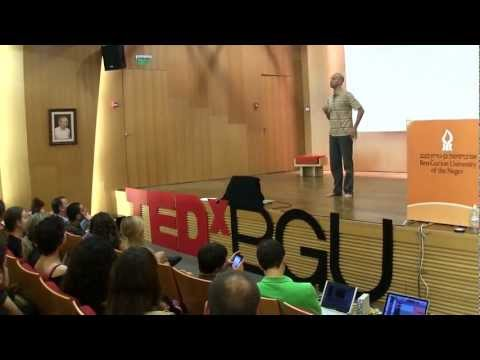 TEDxBGU - Itay Yatuv - Contact Improvisation: An Intuitive, Non-Verbal and Intimate Dialogue