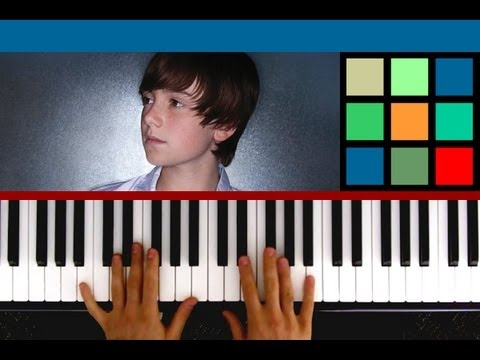 "How To Play ""Waiting Outside The Lines"" Piano Tutorial (Greyson Chance)"