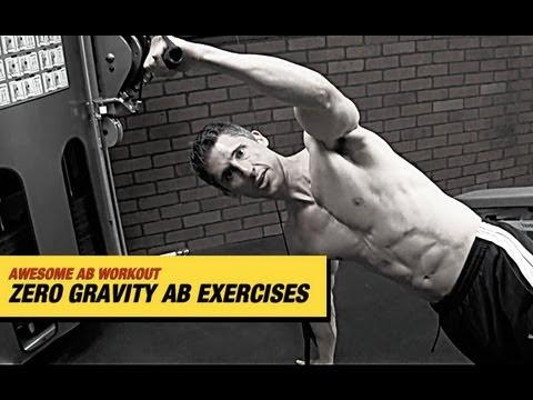 AB EXERCISE & AB WORKOUT - Intense Anti Gravity Ab Exercises