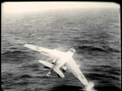 Carrier Plane Crash (Douglas A-3 Skywarrior)