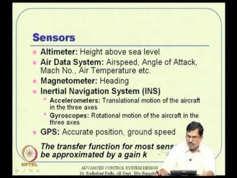 Mod-12 Lec-29 Linear Control Design Techniques in Aircraft Control--I