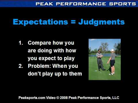 Golf Psychology: Confidence-Expectation Connection in Golf