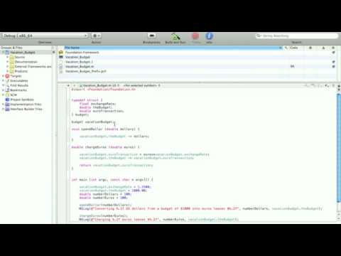 Objective-C Tutorial - Lesson 11: Part 1: Scope of Variables