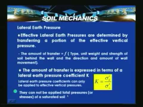 Lecture - 50 Soil Mechanics