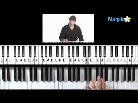 Learn Piano HD: How to Play I, IV, V Progression (Right Hand) in G on Piano