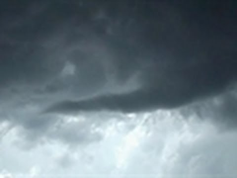 Sideways Tornado Caught on Video | Storm Chasers
