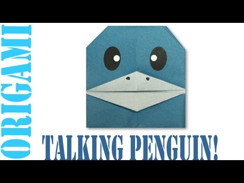 Origami Daily - 278: Talking Penguin - TCGames [HD]