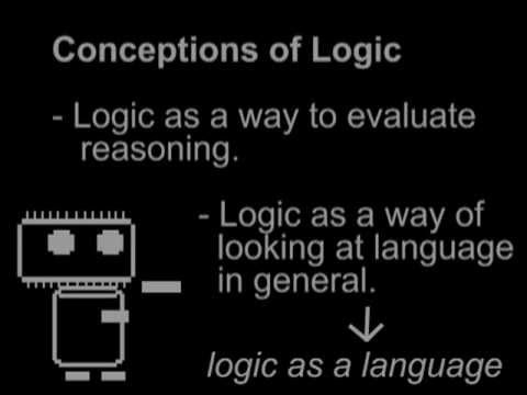 Logic & Language - intro to logic; constants & variables (Logic 1 of 5)