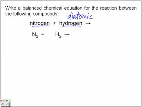 Synthesis Reactions Part 2