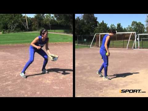 How to Field a Grounder in Softball