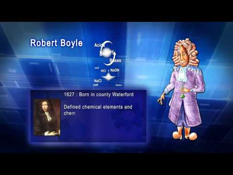 Top 100 Greatest Scientist in History For Kids(Preschool) - ROBERT BOYLE