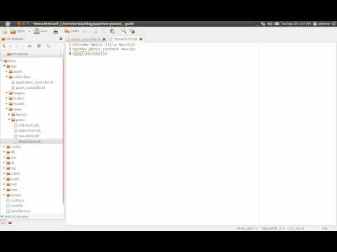 Ruby on Rails Tutorial Part 5 - CRUD - Read - Find Method
