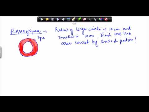 1404. Mathematics Class VII - Circle Area Problem 2.mp4