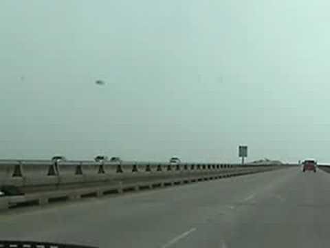 Longest Bridge in the World?  Lake Ponchartrain, Louisiana