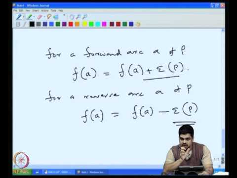 Mod-05 Lec-32 More on network flows: Circulations