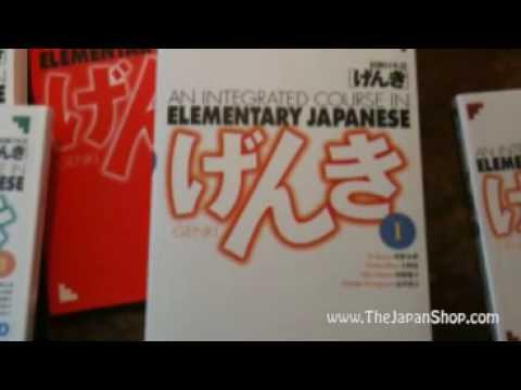 Genki Japanese Textbook Series