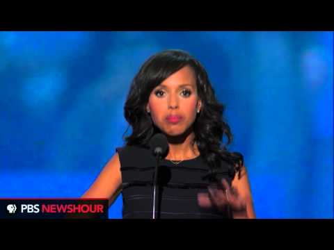 Actress Kerry Washington: 'We Are Not Invisible'