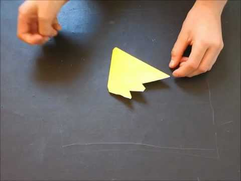 How to fold an Origami Bunch of Bananas designed by Michael Anton