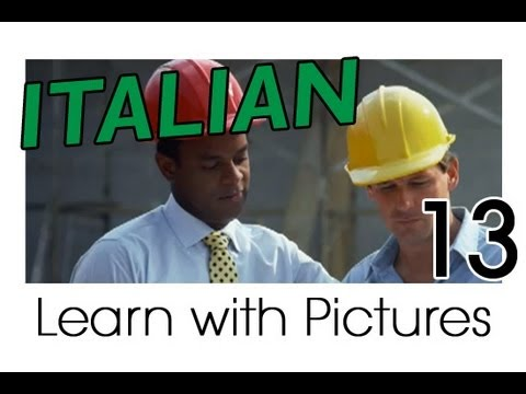 Learn Italian - Italian Job Vocabulary