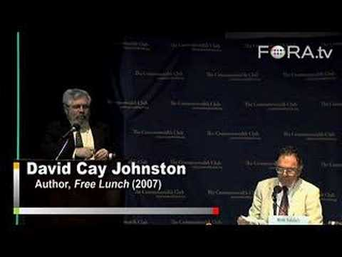 "David Cay Johnston - Problems with a ""Fair Tax"""