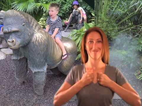 gorilla - ASL for gorilla