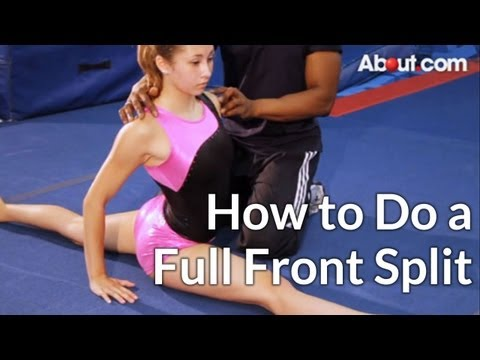 How to Do a Full Front Split