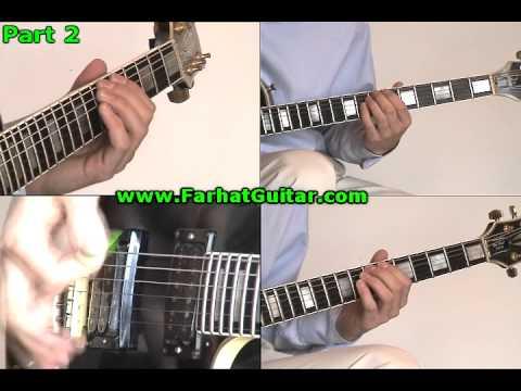 Master of Puppets Metallica Guitar 1-2 www.FarhatGuitar.com