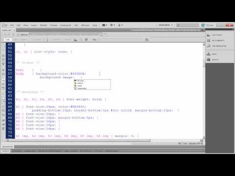 28 - Introduction to Dreamweaver