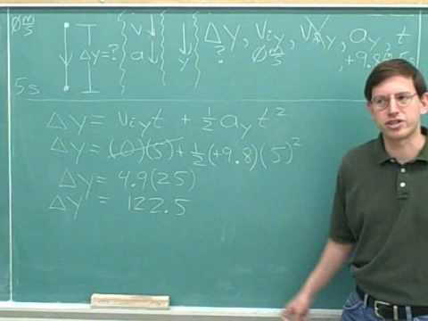 One-dimensional projectile motion (8)