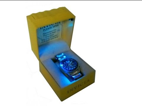 LED watch case
