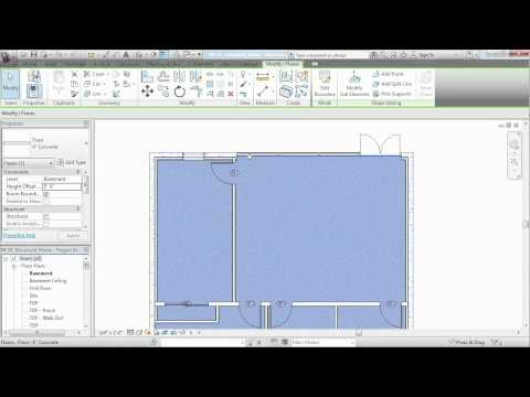 Revit Architecture tutorial: Adding structural floors | lynda.com