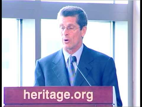 William Simon Jr. Addresses Heritage trustees