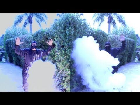 Slammin' Ninja Smoke Bombs!