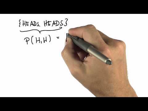 Two Flips 1 - Intro to Statistics - Probability - Udacity
