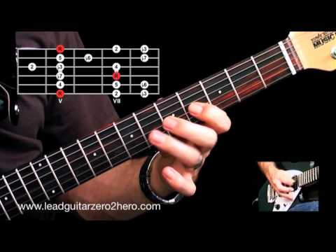 Learn The Minor Pentatonic Scale & Classic Guitar Lick - Lead Guitar Lesson